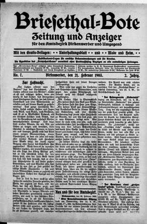 Briesetal-Bote vom 21.02.1903