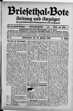 Briesetal-Bote vom 28.02.1903