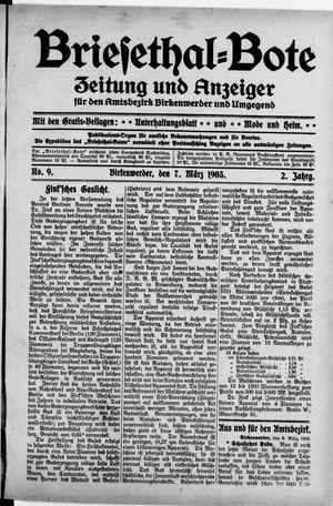 Briesetal-Bote vom 07.03.1903