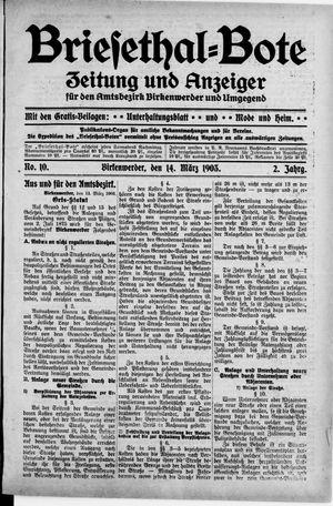 Briesetal-Bote vom 14.03.1903