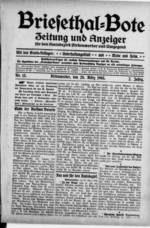 Briesetal-Bote vom 28.03.1903