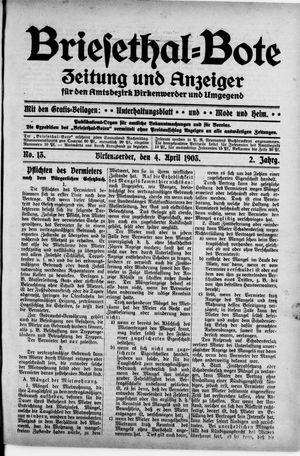 Briesetal-Bote vom 04.04.1903