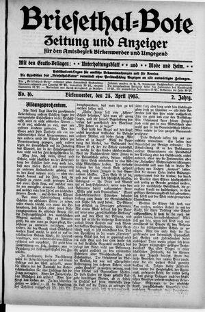 Briesetal-Bote vom 25.04.1903