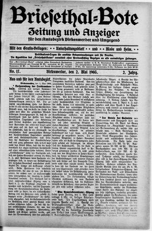 Briesetal-Bote vom 02.05.1903
