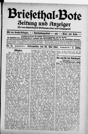 Briesetal-Bote on May 30, 1903