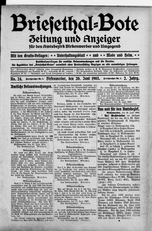 Briesetal-Bote vom 20.06.1903