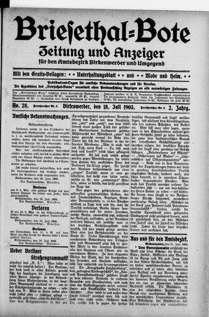 Briesetal-Bote vom 18.07.1903