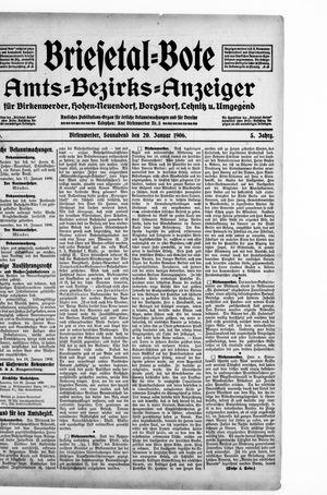 Briesetal-Bote vom 20.01.1906