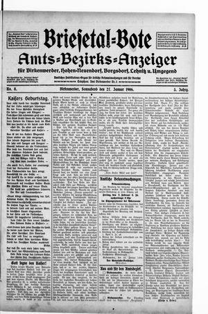 Briesetal-Bote vom 27.01.1906