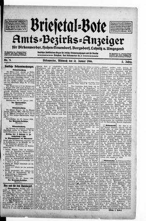 Briesetal-Bote vom 31.01.1906