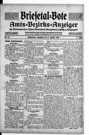 Briesetal-Bote vom 17.02.1906