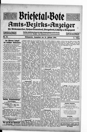 Briesetal-Bote vom 24.02.1906