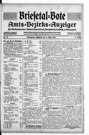 Briesetal-Bote vom 14.03.1906