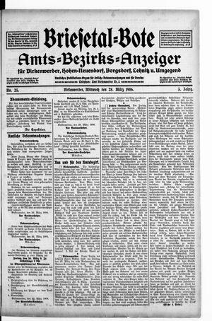 Briesetal-Bote vom 28.03.1906