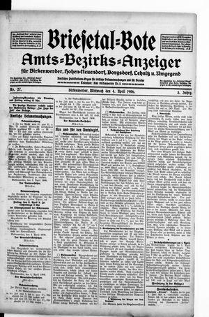 Briesetal-Bote vom 04.04.1906