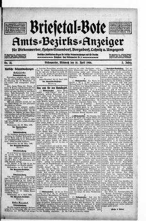 Briesetal-Bote vom 18.04.1906