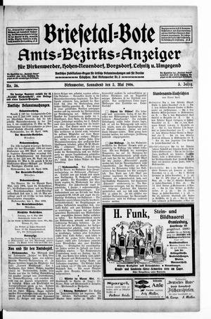 Briesetal-Bote vom 05.05.1906