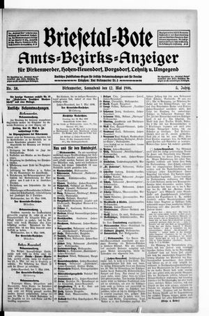 Briesetal-Bote vom 12.05.1906