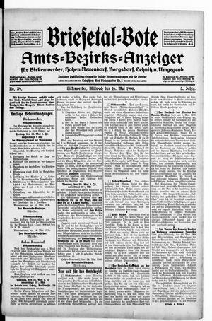 Briesetal-Bote vom 16.05.1906