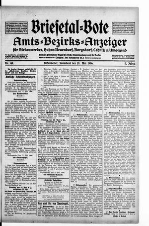 Briesetal-Bote vom 19.05.1906