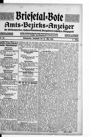 Briesetal-Bote vom 26.05.1906