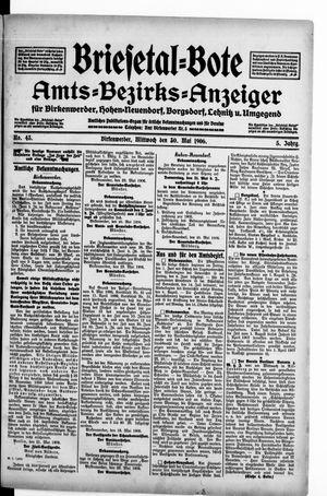 Briesetal-Bote on May 30, 1906