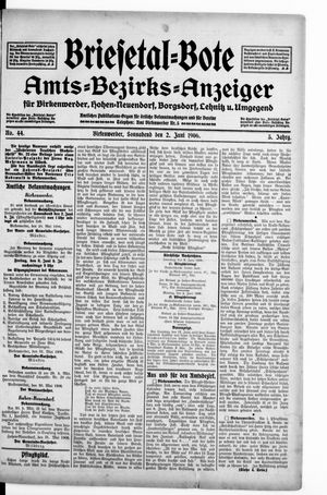 Briesetal-Bote vom 02.06.1906