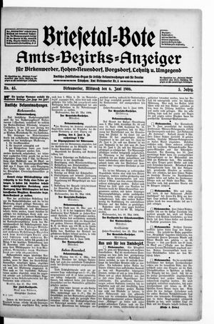 Briesetal-Bote vom 06.06.1906