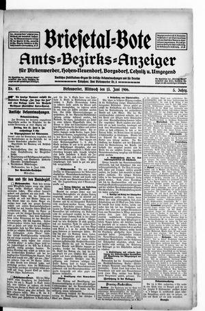 Briesetal-Bote vom 13.06.1906