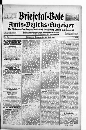 Briesetal-Bote vom 16.06.1906