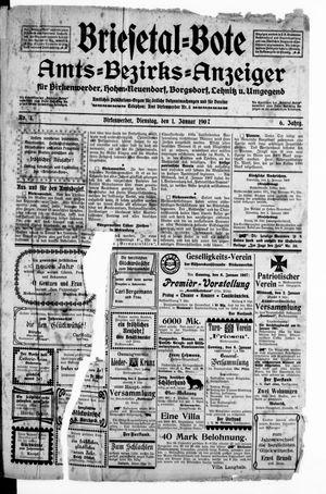 Briesetal-Bote vom 01.01.1907
