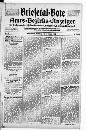 Briesetal-Bote vom 09.01.1907
