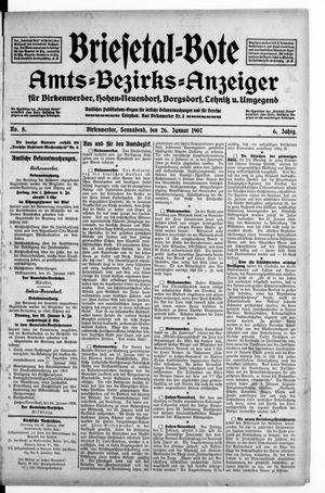 Briesetal-Bote vom 26.01.1907
