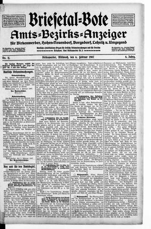 Briesetal-Bote vom 06.02.1907