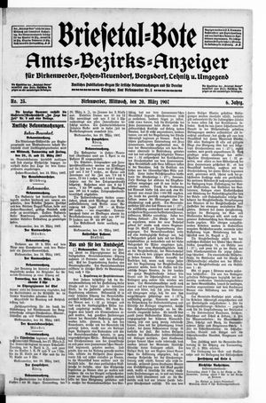 Briesetal-Bote vom 20.03.1907