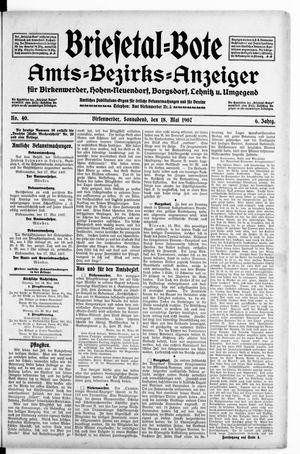 Briesetal-Bote vom 18.05.1907