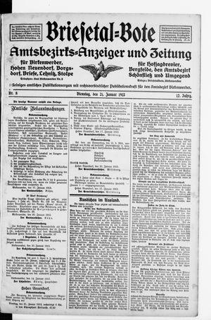 Briesetal-Bote vom 21.01.1913