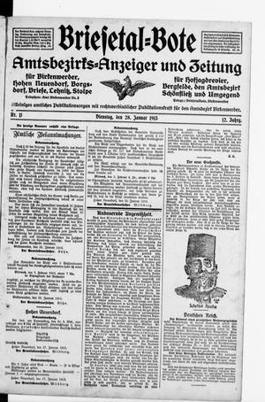 Briesetal-Bote vom 28.01.1913