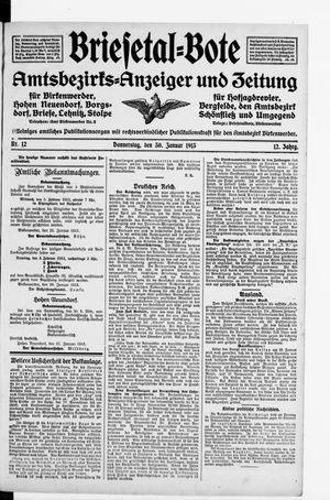 Briesetal-Bote vom 30.01.1913