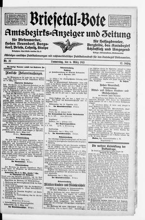 Briesetal-Bote vom 06.03.1913