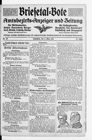 Briesetal-Bote vom 08.03.1913