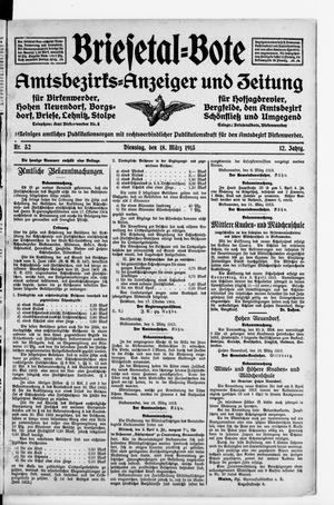 Briesetal-Bote vom 18.03.1913