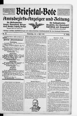 Briesetal-Bote vom 04.04.1913
