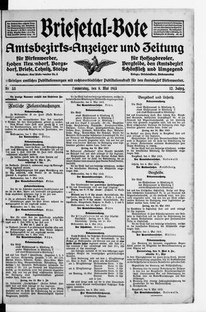 Briesetal-Bote vom 08.05.1913