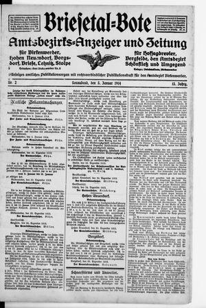 Briesetal-Bote vom 03.01.1914
