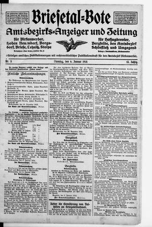 Briesetal-Bote vom 06.01.1914