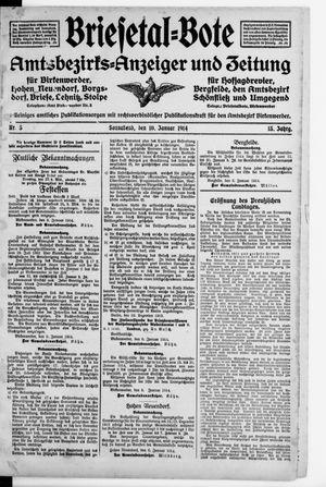Briesetal-Bote vom 10.01.1914