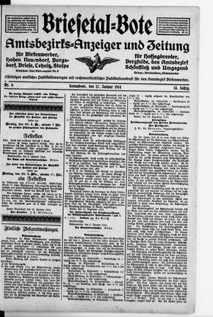 Briesetal-Bote vom 17.01.1914