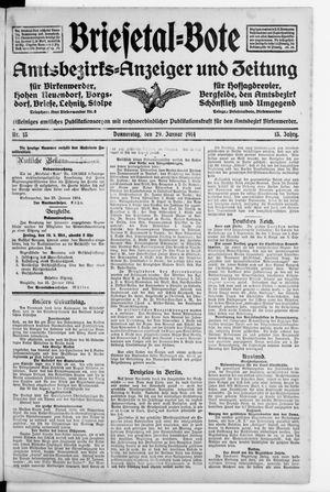 Briesetal-Bote on Jan 29, 1914