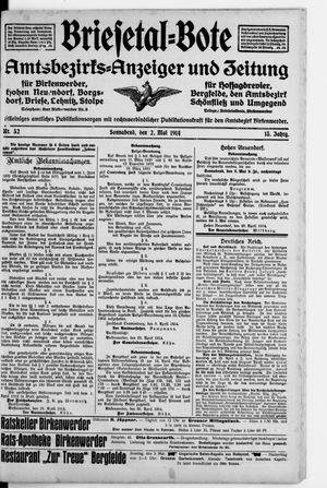 Briesetal-Bote vom 02.05.1914